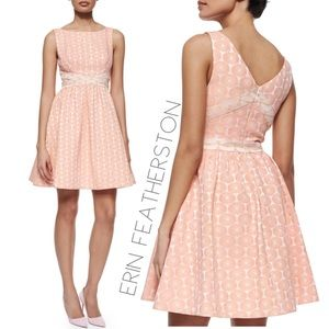 Erin Fetherston Edie daisy fit flare dress 0 XS